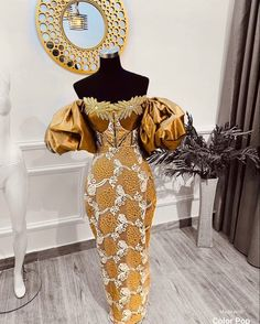 African Party Dresses, African Outfits, Latest African Fashion Dresses, African Print Fashion, African Attire, African Wear, African Style, African Dress, Aso Ebi Lace Styles