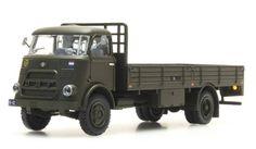 DAF flatbed truck, cab.'64, 'army'