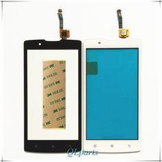 Sticker cep telefonu dokunmatik panel için lenovo a2010 lenovo a2010 için ön dokunmatik ekran digitizer paneli onarım cam sensörü