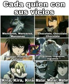 Read 49 from the story memes de death note by catchtaehyung__ (💜) with 993 reads. Death Note Funny, Death Note Near, Death Note Fanart, L Death Note, Anime Chibi, Kawaii Anime, Manga Anime, Shinigami, Funny Memes