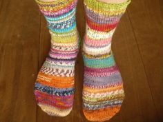 Ravelry: renee-ellen's socks #30  WISH I COULD KNIT!! Awesome!