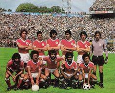 1978; Em cima: Eurico, Nené, Bastos Lopes, Toni, Zé Luis e Fonseca. Em baixo: Chalana, Pietra, Humberto, Alberto e Shéu