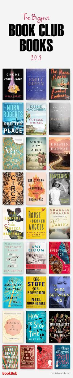 Great book club books and book club ideas, including new fiction, bestselling fiction, life changing books, books for women and men, and more.