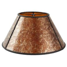 How to make fiberglass lamp shades tutorials glass and crafty 16 amber mica shade with braided cording keyboard keysfo Gallery