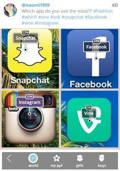 Which #app do you use the most? #iPhone #Android #BlackBerry #app #apps #games #gaming #fun #technology