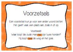 Lessen van Lisa - Taal Visual Learning, Learning Activities, Learn Dutch, Dutch Language, School Tool, Classroom Language, Creative Teaching, Kids Education, Grammar