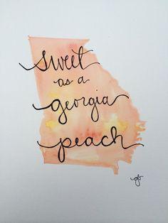 Sweet as a Georgia Peach                                                                                                                                                                                 More
