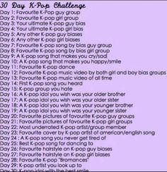 30 Day Kpop Challenge Day 26 | K-Pop Amino