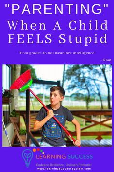 """""""Poor grades do not mean low intelligence."""" - Root Teaching Manners, Teaching Kids, Gentle Parenting, Parenting Hacks, Feeling Stupid, Positive Discipline, Mom Advice, Autism Spectrum, Special Needs"""