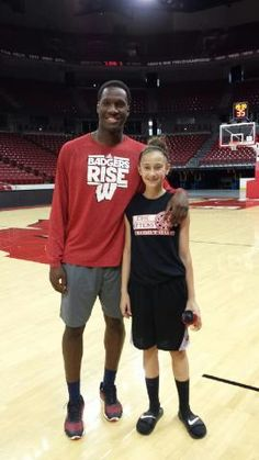 Nigel Hayes. Funny, nice, and best coach ever. Go Badgers!!!!
