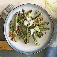 Pan-Charred Asparagus Recipe - Key Ingredient