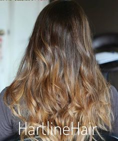 Balayage Ombre is life I love the look of a beautiful well blended Ombre.  . . . . . . . #balayage #ombre #balayageombre #brunnette #blondehair #longhairdontcare #hartlinehair #daltongeorgia #hairpainting #hairporn #highlights #beautifulhair