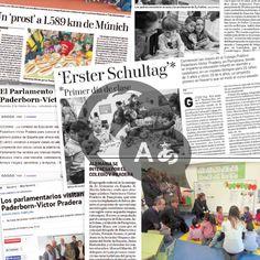 Publicidad colegio Víctor Pradera