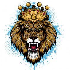 Art Roi Lion, Lion Art, Lion King Animals, Lion King Art, Wild Animals, Hipster Wallpaper, Lion Wallpaper, Leon Logo, Logo D'art