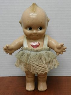 Rose O'Neill Kewpie Doll/ I had a Rosie when I was a child. Love her. Just purchased another one. :>}