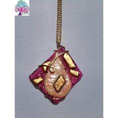 $25.00 Neck Art Pendant Diamond by NeckArt on Handmade Australia