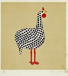 Aldemir Martins, bird, print, 1957