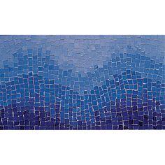 "View the Daltile 707346 Glass Mosaics Borders 12"" Hand-cut Byzantine Tide Pattern Multi-Surface Mosaic Tile at Build.com."
