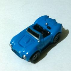 ITEM Micro machines Cobra shelby blue from the 1986 deluxe collection set of cars with opening parts DESCRIPTION Item is in used condition very good