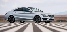 The closest look of the new Mercedes CLA yet...