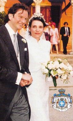 Princess Alexandra, with husband, Nicholas. The couple have two sons. Tigran and Darius.