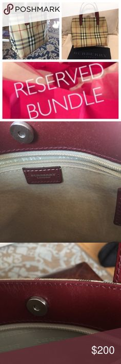 """Authentic Burberry Small Satchel Authentic Burberry Small Satchel. Excellent Condition. Note Very Slight Wear Inner Rim By Button Closure. 7.5""""H x 8""""W x 3.5""""D -- Strap Drop 4.5"""" Received As Graduation Gift. ✨✨✨✨ Burberry Bags"""