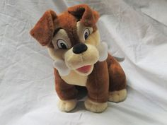 "Disney Store Lady and the Tramp 2 - 10"" Scamp Plush Sold in Hong Kong- RARE"