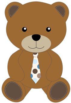 Teddy Bear, Clip Art, Bows, Baby Shower, Animals, Brown Bear, Kid Drawings, Stationery Shop, Pandas