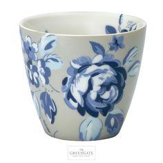 GreenGate latte cup Amanda dark blue AW16