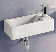 Reina Porcelain Wall Mount Bathroom Sink Wall Mount Bathroom And Bathroom Sinks