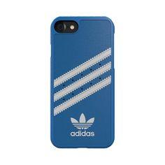 www.smart-and-phone.de #smartandphone #adidas  adidas Originals Moulded Case Apple iPhone 7 bluebird white