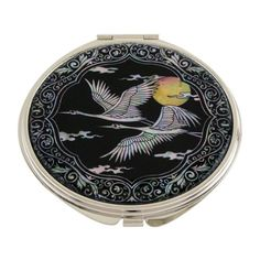 Mother of Pearl Bird and Yellow Moon Design Double Compac... https://www.amazon.com/dp/B007AT3RTK/ref=cm_sw_r_pi_dp_aP7Fxb6SDEPT4