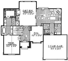 Four Bedroom New American
