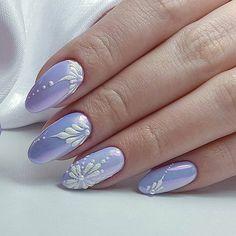 What manicure for what kind of nails? - My Nails Cute Nail Art, Beautiful Nail Art, Cute Nails, Pretty Nails, Fingernail Designs, Nail Art Designs, Nails Design, Nail Art Noel, Nagellack Design