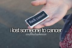 I lost someone to cancer . I miss you so much Auntie Gracie Losing Someone, Losing Me, Just Me, Love You, My Love, Rip Grandpa, Miss My Dad, Lung Cancer Awareness, Cancer Quotes