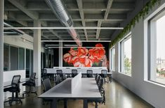 Exposed Trusses, Best Workplace, Concrete Column, Community Housing, Old Room, Coworking Space, Global Design, Interior Architecture, Melbourne
