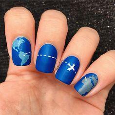 51 trendy nails dark design nailart colour Informations About 51 trendy nails dark design nailart colour Pin You can easily use my prof Dark Blue Nails, Mint Nails, Nail Art Blue, Summer Acrylic Nails, Best Acrylic Nails, Stylish Nails, Trendy Nails, Glam Nails, Pretty Nail Art