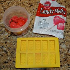 From the Fence Post: Ultimate Lego Party - Lego Candies