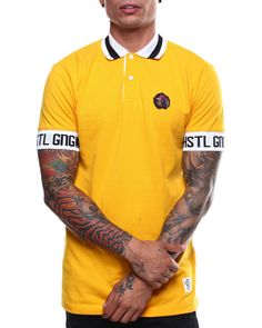 e760ab528 Find DYNAMITE SS POLO Men's Shirts from Hustle Gang & more at DrJays.  Men's