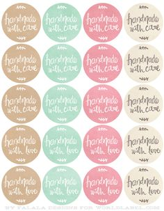 free printables handdrawn labels for handmade goods labels for jars soap labels free