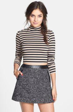 Nordstrom tweed mini-skirt