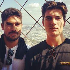 """Having a great time in Paris!"" via Zane Holtz"
