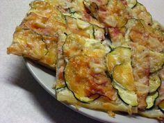 Rýchly slaný cukeťák - obrázok 2 No Cook Meals, Quiche, Zucchini, Pizza, Food And Drink, Health Fitness, Snacks, Vegan, Vegetables