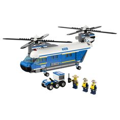 Heavy-Duty Lift Helicopter