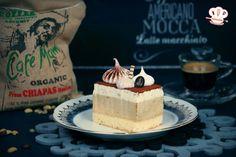 Kaffeemousse-Schnitten/Tiramisùschnitten/Kaffeeschnitten/ Kremaste kocke od kafe/Kolač od kafe - Hanuma kocht - Der zweisprachige Foodblog African Dessert, Ethnic Recipes, Gelatine, Desserts, Food, Muffin, Goals, Apple Crumble Recipe, Tailgate Desserts