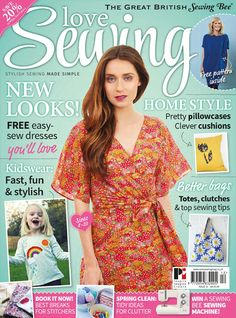 drapey knit dress ~ Love sewing issue 12 2015