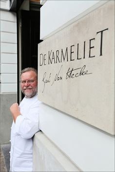 Cook of restaurant De Karmeliet, bruges (c)Michel Vaerewijck, via Flickr.