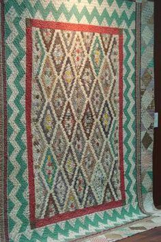 Antique English quilt