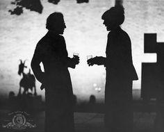Woody & Diane (Woody Allen and Diane Keaton) MGM photo.