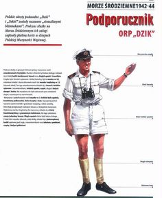 Polish naval officer in British Royal Navy summer uniform Central And Eastern Europe, Royal Navy, British Royals, World War Two, Wwii, Air Force, Two By Two, Cosplay, Drawings